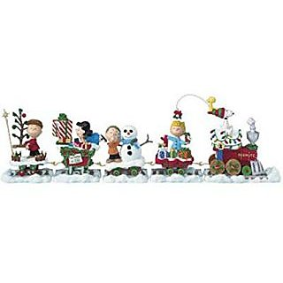Danbury Mint Peanuts Holiday Train Christmas Train