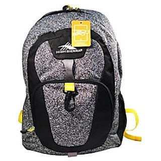 High Sierra Stomp Backpack (Granite/Black/Yellow)