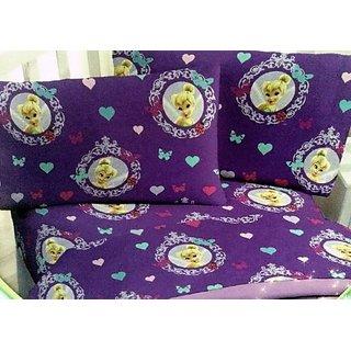 Disney Fairies Cotton Rich Full Sheet Set