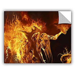 ArtWall Michael L Stewarts Pyro Art Appeelz Removable Wall Art Graphic, 14 by 18