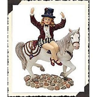 BOYDS DOLLSTONE CLAIRE MARIE ON STARR...CIRCUS DREAMS