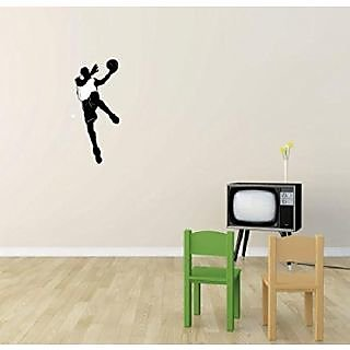 Design with Vinyl 2 Pro 126 Decor Item Basketball Sport All Star Player Boy Girl Teen Wall Decal Peel and Stick Sticker