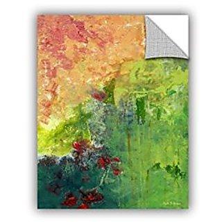 ArtWall Herb Dickinsons GardenS Edge Art Appeelz Removable Graphic Wall Art, 36 x 48