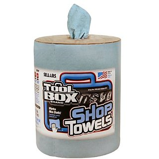 Sellars 55207 ToolBox Z400 Big Grip Refill Shop Towel, 13