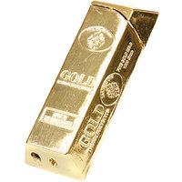 24 Karat Gold Bar Brick Design Flame Lighter By- JEWEL FUEL