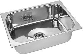 SS Silverware Stainless Steel Single Bowl Kitchen Sink - SS-BQ-SINK