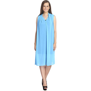 INSPIRE WORLD Womens Dupatta Style Dress With 100 Pure Cotton Inner In Slab Jersy