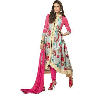 Designer Floral Print Anarakali Suit