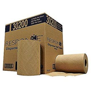 Response 30200 22# Dispenser Hardwound Roll Towel, 350 Length x 8