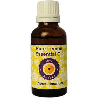 Pure Lemon Essential Oil - Citrus Limonum - 30ml