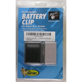 Battery Clip with AC Adapter for Game Boy Pocket