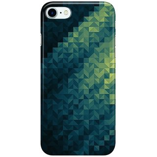 Dreambolic carbon fibre blue Back Cover for Apple iPhone 7