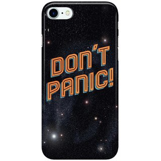 Dreambolic Don't-Panic Back Cover for Apple iPhone 7