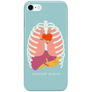 Dreambolic Hug-keep-us-alive Back Cover for Apple iPhone 7