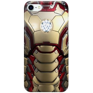 Dreambolic ironman-mark-XLII-restyled Back Cover for Apple iPhone 7