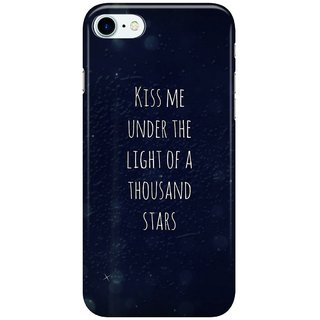 Dreambolic kiss me under thw kight of thousand stars Back Cover for Apple iPhone 7