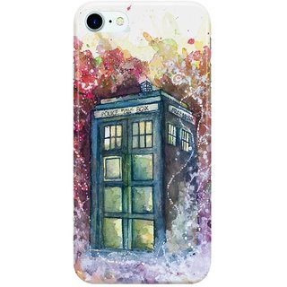 Dreambolic Doctor-Who-Tardis Back Cover for Apple iPhone 7