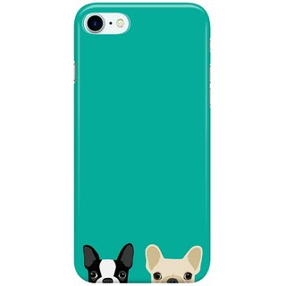 Dreambolic Boston-Terrier--French-Bulldog-2 Back Cover for Apple iPhone 7