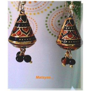 Rajasthani Meena Ear Ring set