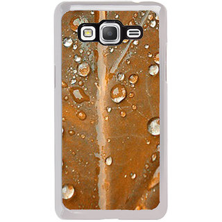 ifasho water Drop on brown leaf Back Case Cover for Samsung Galaxy Grand Prime