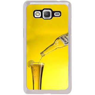 ifasho Beer Back Case Cover for Samsung Galaxy Grand Prime