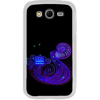 ifasho zodiac sign aquarius Back Case Cover for Samsung Galaxy Grand
