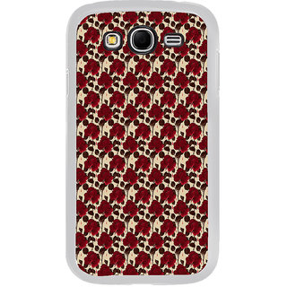ifasho Animated Pattern rose flower with leaves Back Case Cover for Samsung Galaxy Grand 2