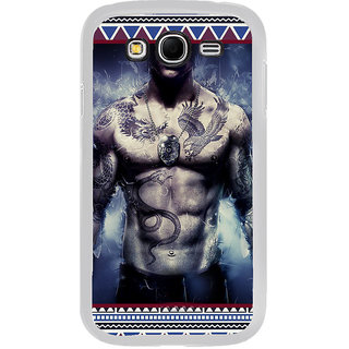 ifasho tatoo man six pack Back Case Cover for Samsung Galaxy Grand 2