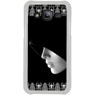 ifasho covered Girl and Spider Back Case Cover for Samsung Galaxy J2