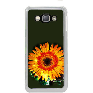 ifasho one Flowers Back Case Cover for Samsung Galaxy J1 (2016 Edition)