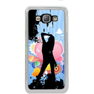 ifasho model cat walk Back Case Cover for Samsung Galaxy J1 (2016 Edition)