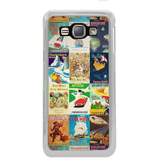ifasho Animated Pattern colourful hollywood film posters  Back Case Cover for Samsung Galaxy J1 (2016 Edition)