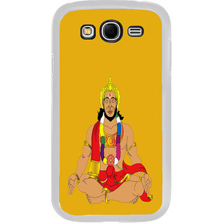 ifasho Lord Hanuman Back Case Cover for Samsung Galaxy Grand