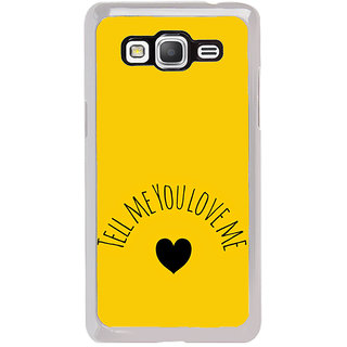 ifasho Love  Quotes  Back Case Cover for Samsung Galaxy Grand Prime