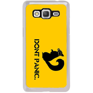 ifasho Dont panic quotes Back Case Cover for Samsung Galaxy Grand Prime