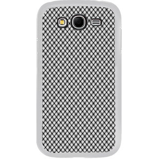 ifasho Design lines pattern and square pattern Back Case Cover for Samsung Galaxy Grand