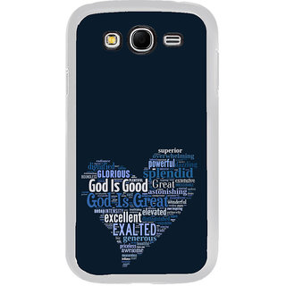 ifasho Quotes on God inside a heart Back Case Cover for Samsung Galaxy Grand