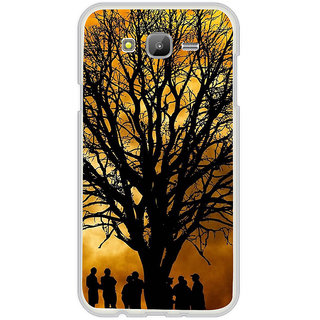 ifasho Tree Painting with people  Back Case Cover for Samsung Galaxy J7 (2016)