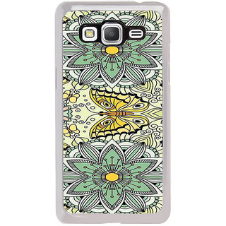 ifasho Animated Pattern colrful flower and butterfly Back Case Cover for Samsung Galaxy Grand Prime