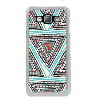 ifasho Animated Pattern colrful tribal design Back Case Cover for Samsung Galaxy J1 (2016 Edition)