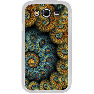ifasho Animated Pattern design colorful flower in royal style Back Case Cover for Samsung Galaxy Grand 2