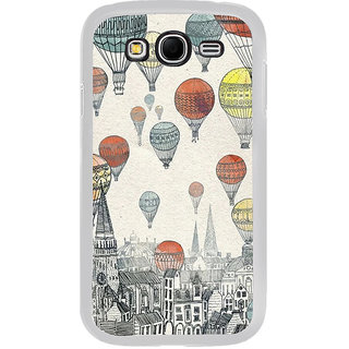 ifasho city with artistic hot air baloon Back Case Cover for Samsung Galaxy Grand