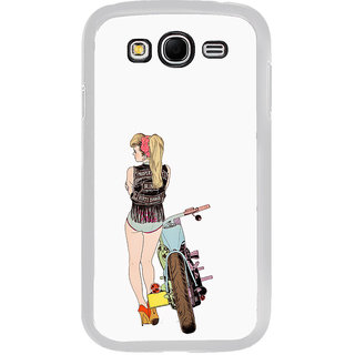 ifasho Girl with bullet Back Case Cover for Samsung Galaxy Grand 2