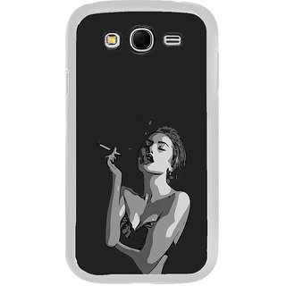 ifasho Smoking girl Back Case Cover for Samsung Galaxy Grand 2