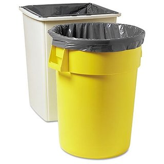 Rubbermaid Commercial FG502888 Gray 50 Gallon Linear Low Density Can Liner for Brute Utility Container (Case of 100)