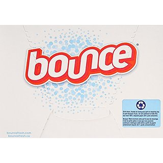 Bounce Fabric Softener Dryer Sheets Free & Gentle 240 Count