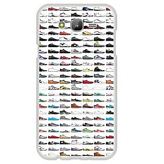 ifasho Animated Design  Many shoes Back Case Cover for Samsung Galaxy J7 (2016)