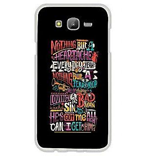ifasho Love Quotes Back Case Cover for Samsung Galaxy J7 (2016)