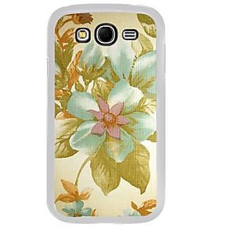 ifasho Animated Pattern colrful design flower with leaves Back Case Cover for Samsung Galaxy Grand 2