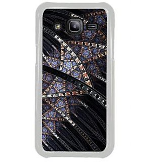 ifasho modern design in multi color pattern Back Case Cover for Samsung Galaxy J2